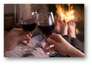 01234 abcde brindando o vinho